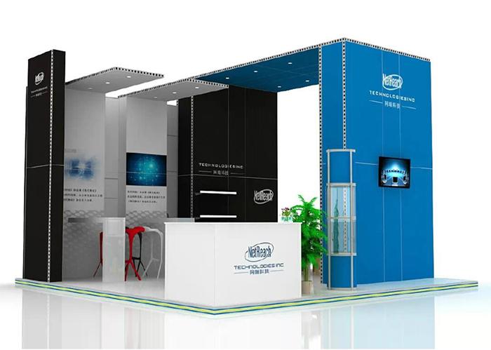 网媒科技-模块展台