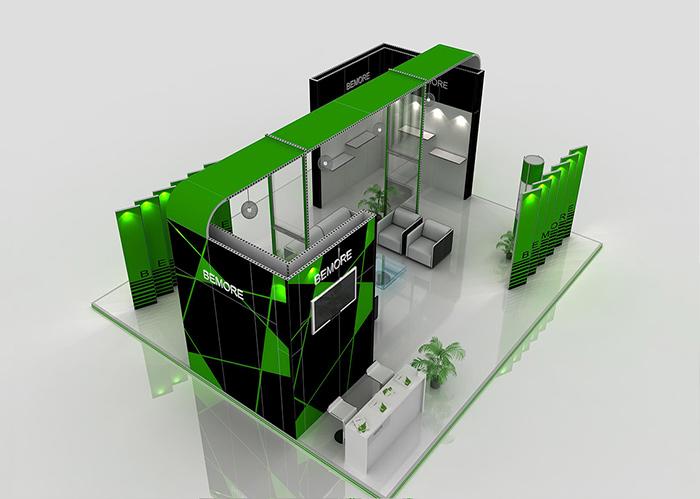 模块环保展台:XC-MK-118