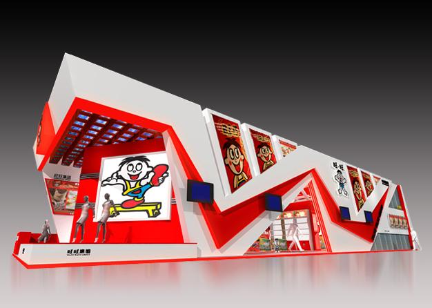 台湾名品展-旺旺集团展台搭建(360㎡)