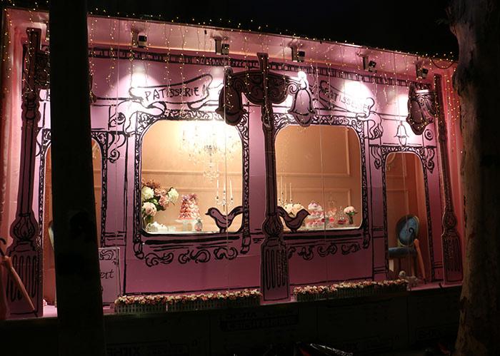 家具店橱窗道具制作