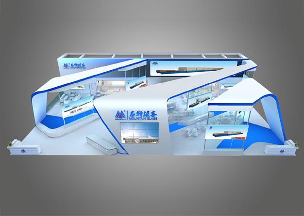 玻璃展-名特设备展台搭建(589㎡)